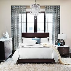 We should all have a chandelier over our bed!