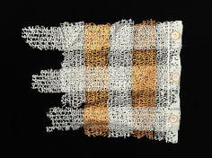 PABLO LEHMANN Textiles, Paper Cutting, Paper Art, Letters, Stitch, Fabric, Inspiration, Blue Prints, Tejido