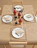 Super cute idea for the kids table
