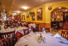 Meson Sevilla - Meson Sevilla has been serving authentic tapas and cuisine from Spain. Located along Restaurant Row, this cozy establishment is a favorite among both theatergoers and locals.