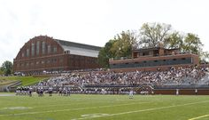 The beautiful Butler Bowl. Running the Butler Bulldogs football team onto that field is one of my favorite things to do.