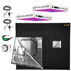 Gorilla Grow Tent/KIND LED Starter Grow Kit