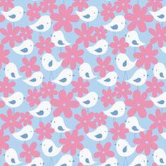 Tissu PATCHWORK Enfant rose et bleu GET TOGETHER FREE SPIRIT : Tissus pour Patchwork par les-bricoles-de-m-martine