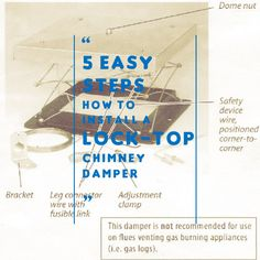 How To Install Chimney Damper 5 Easy Steps
