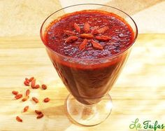 Smoothie de Goji și Afine Pentru Vedere Eye Sight Improvement, Smothie, Nutribullet, Healthy Drinks, Grapefruit, Health Fitness, Sweets, Food And Drink, Vegan