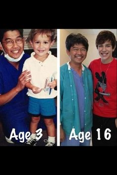 Austin Mahone <3 he's so cute now and as a kid