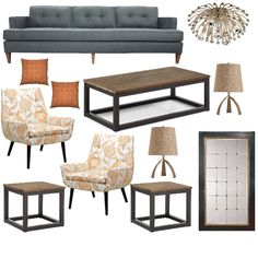 Neutral tones in your home decor bring a serenity to the space but you can always add interest with a pop of color #homedecor #livingroomdecor #projectdecor