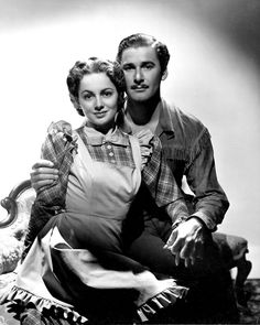 Olivia de Havilland and Errol Flynn, everything they did together rang so true....they had a real life romance.