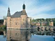 Castle of Jehay.  There are more castles per square mile in Belgium than anywhere else in the world.