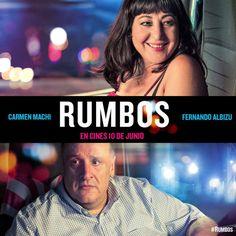 Rumbos llega a los cines el 10 de junio con Carmen Machi y Fernando Albizu