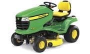 John Deere X300 lawn tractor photo