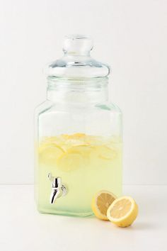 Another perfect item for those summer parties! Now to find the perfect lemonade recipe...   #indigo #perfectsummer -   Vertices Drink Dispenser - Anthropologie.com