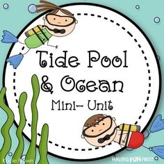 Tide Pool and Ocean Nonfiction Informational Text Unit Diurnal Animals, San Francisco, Reading Comprehension, Comprehension Questions, Ocean Unit, Interactive Stories, Tide Pools, Literacy Centers, Writing Prompts