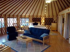 Windstone retreat yurt.