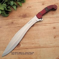 Cody's Custom Handmade D2 Tool Steel Tactical Gurkha Kukri Knife Combat Machete