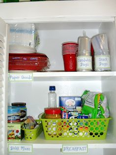 Pantry Organization.  Tips you can use, too!