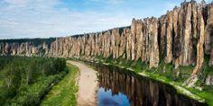 Красивые места России. Ленские столбы