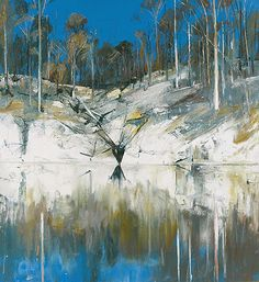 Arthur Boyd - love his paintings with reflections in water.