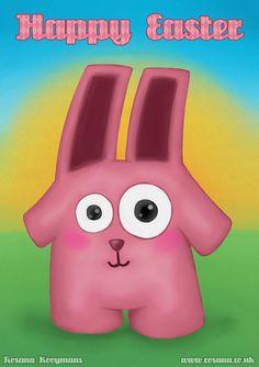 Freezer Bunny art! #sims #freezerbunny