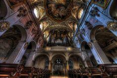 The Pipe Organ of St. Emmeram in Regensburg