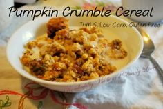 Pumpkin Crumble Cereal
