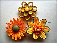 DAYDREAMS: For my love for Quilled flowers