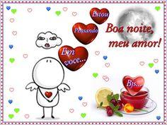 Falando sobre amor : Cartões postais de boa noite, meu amor...