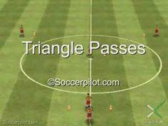 triangle passing - short-short-long