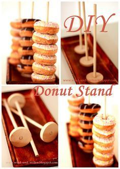 DIY Donut Stand