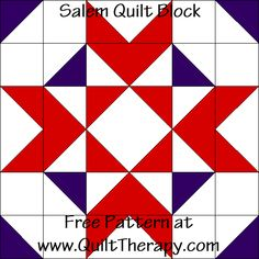 Quilted Kitchen: Salem Quilt Block & Salem Chop Suey Sandwiches Recipe – Quilt Therapy