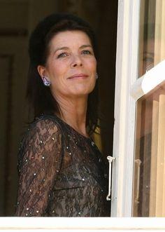 ♔ Carolina do Monaco ♔ Andrea Casiraghi, Charlotte Casiraghi, Princess Caroline Of Monaco, Princess Stephanie, Grace Kelly, Princesa Carolina, Prince Rainier, Gossip Girl, Persona