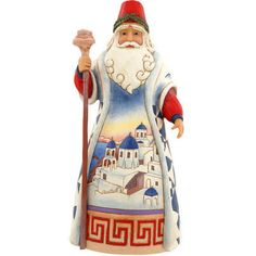 Greek Santa Jim Shore Figure
