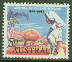 Postage stamp honoring nurses, Australia