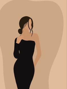 Illustration Art Drawing, Portrait Illustration, Art Drawings, Illustrations, Beauty Illustration, Arte Fashion, Abstract Face Art, Cartoon Art Styles, Diy Canvas Art