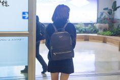 151025 gimpo airport © 남똑 | do not edit. #oh my girl#binnie#151025#p: fantaken#e: airport#f: namddok