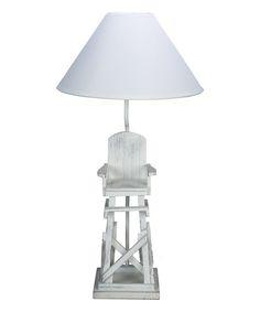 beach theme lighting. Lifeguard Chair Table Lamp Beach Theme Lighting O