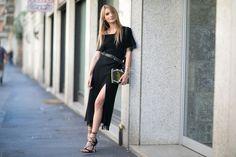 Inspiring street style from Milan Fashion Week Spring 2016