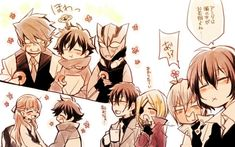 Heh, Zappu san is growing flower on his head.