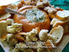 This delicious dip is so easy to prepare and is always a hit! Dip Recipes, Snack Recipes, Snacks, Spinach Dip, Dips, Easy, Food, Snack Mix Recipes, Sauce Recipes