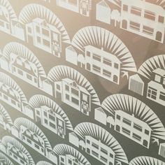 Mini Moderns Metroland window film
