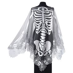 Skeleton Poncho - Best Selling Gifts, Clothing, Accessories, Jewelry and Home…