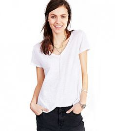 99166cadc1 The Best Basic T-Shirts at Every Price Point. Urban Outfitters WomenV Neck  ...