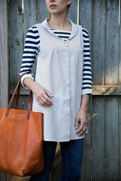 one of the many versions of the WEST WATER TUNIC :: styled right here in Providence!