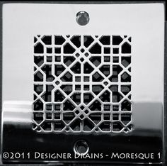 Designer Drains Architecture Moresque™ No.1 SQ