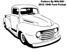 1948 Ford Pickup (Chopped) - Transportation - User Gallery - Scroll Saw Village