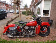 Harley Davidson - Liberator WLC 750 - 1946
