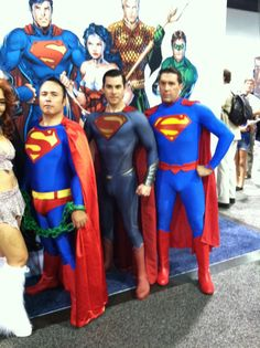Supermen - WonderCon 2014