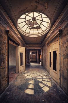 Abandoned Architecture | Abandoned Buildings by Matthias Haker | 123 Inspiration