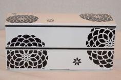 Chrysanthemum Long Bento #bentobox #lunchbox www.hanabentos.com