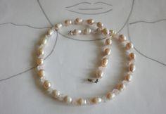 Perlen Schmucksets - Perlen - Collier Maralah - ein Designerstück von sibea bei DaWanda